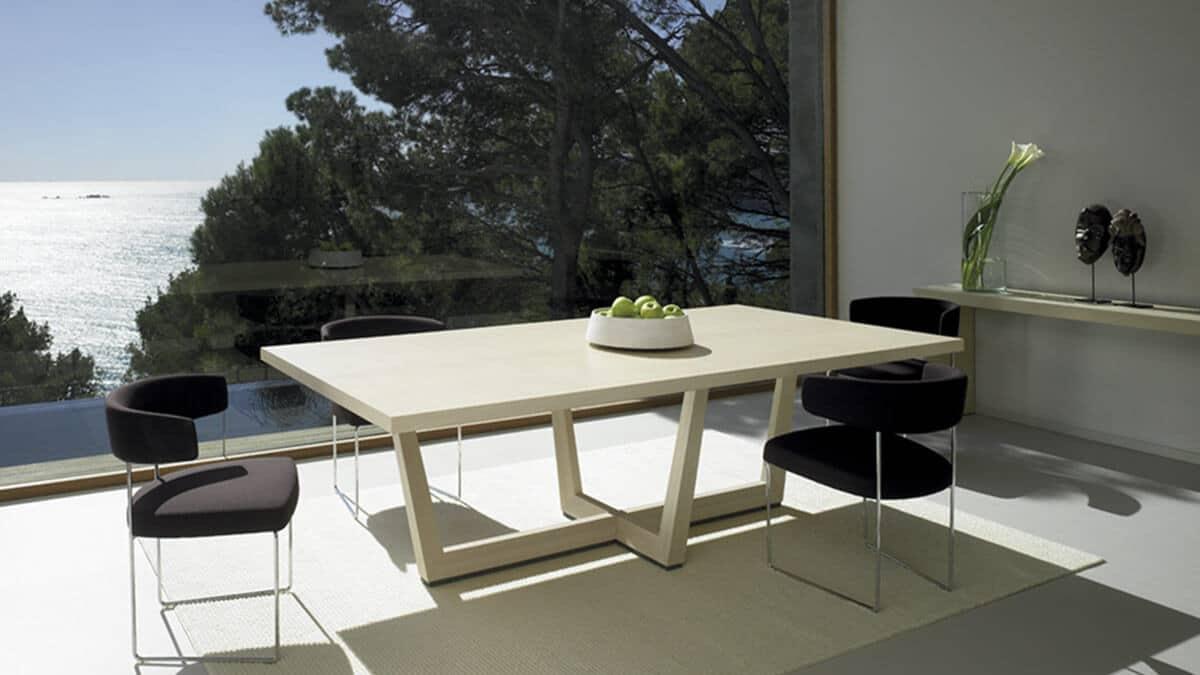 Comedor con vistas Andreu World Tauro - muebles de hogar en madrid