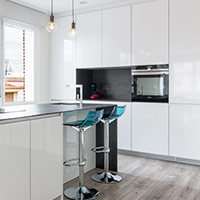 Cocina con isla cliente Coeco - muebles de cocina en madrid