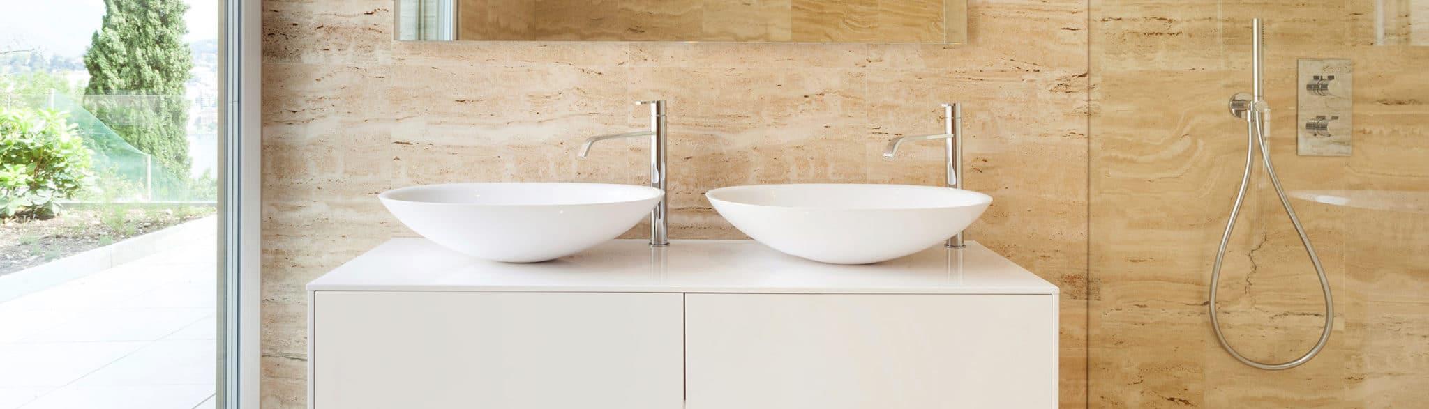 Baño con mucha luz - muebles de baño en madrid