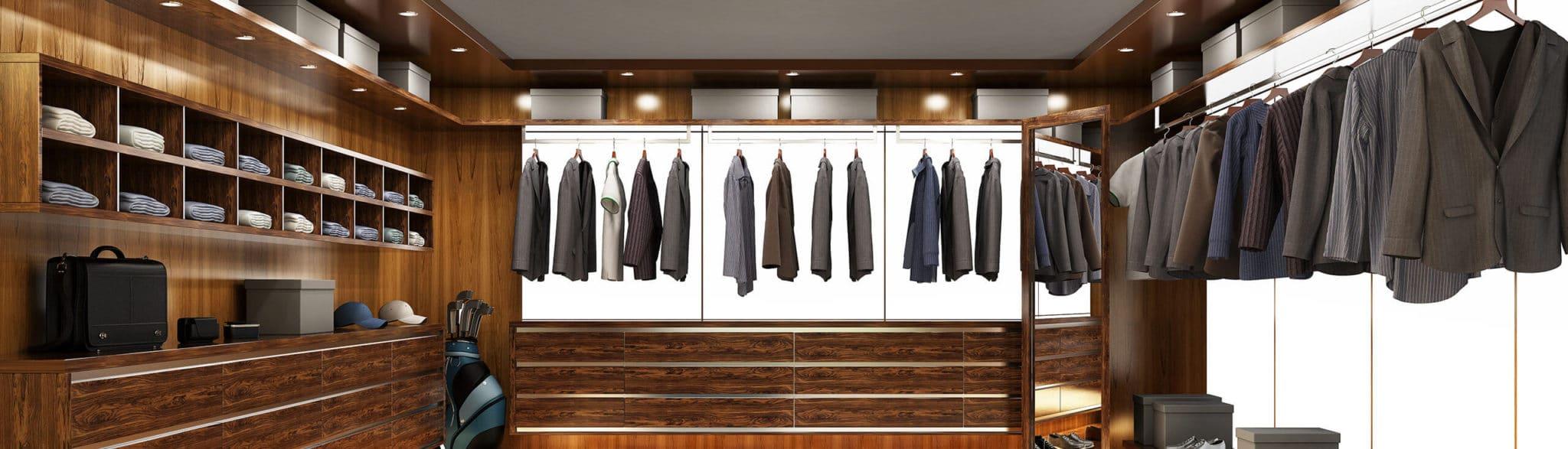 Vestidor para hombre y mujer - muebles de hogar en Madrid