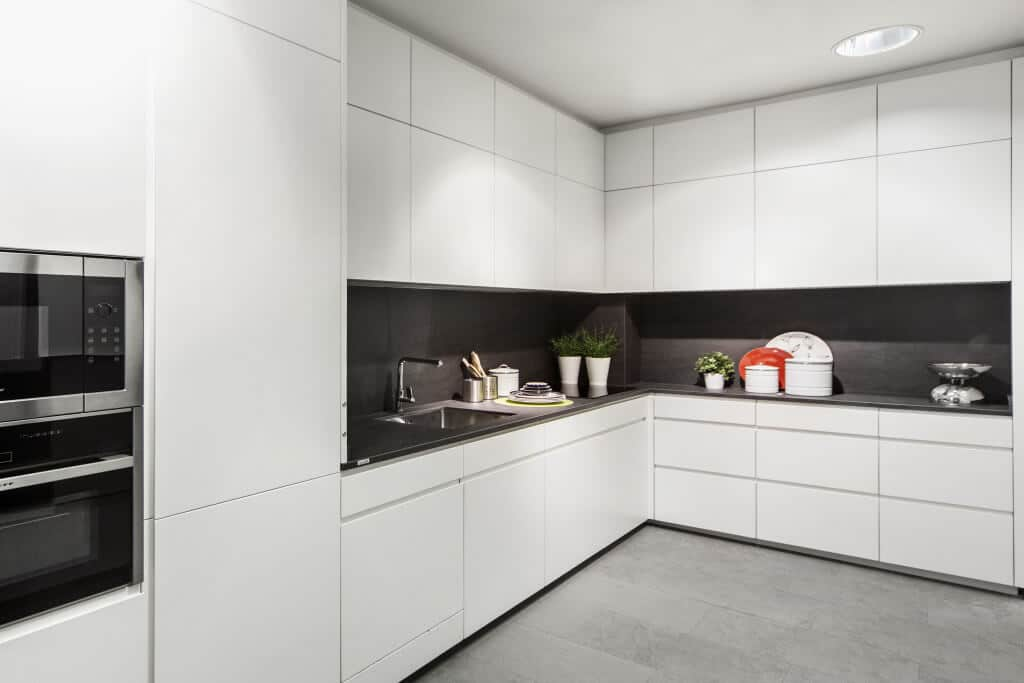 Las 10 mejores cocinas de dise o en madrid - Cocinas blancas y gris ...