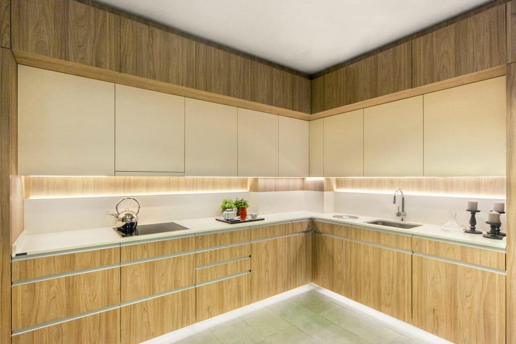 Cocina de diseño madera - cocinas de diseño