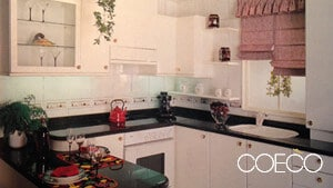 Cocina clásica pequeña - muebles de cocina en Madrid