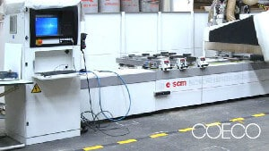 Máquinas fábrica de muebles de cocina Grupo Coeco