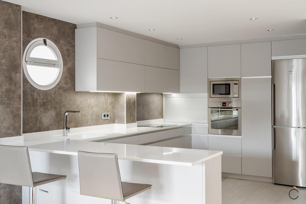 10 cocinas modernas con 10 motivos para elegirlas - Material para cocinas modernas ...