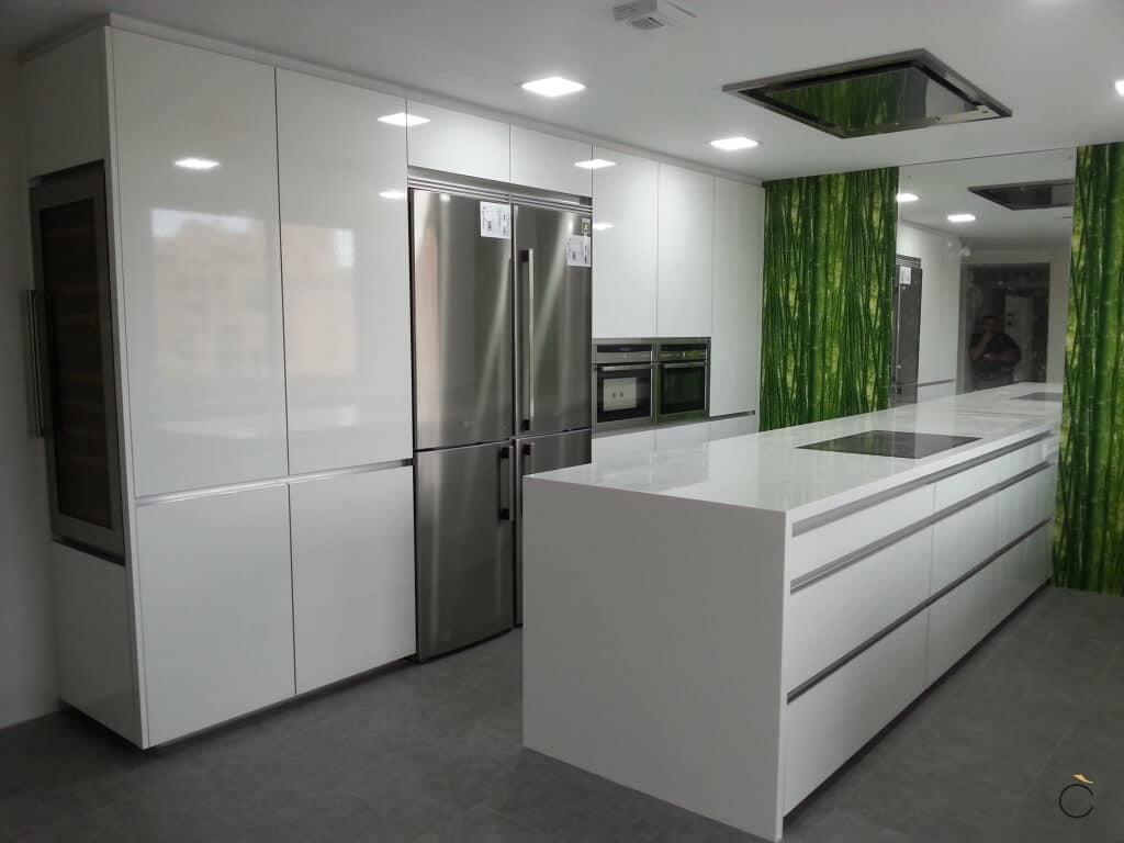 Cocina de diseño - Cocinas con península