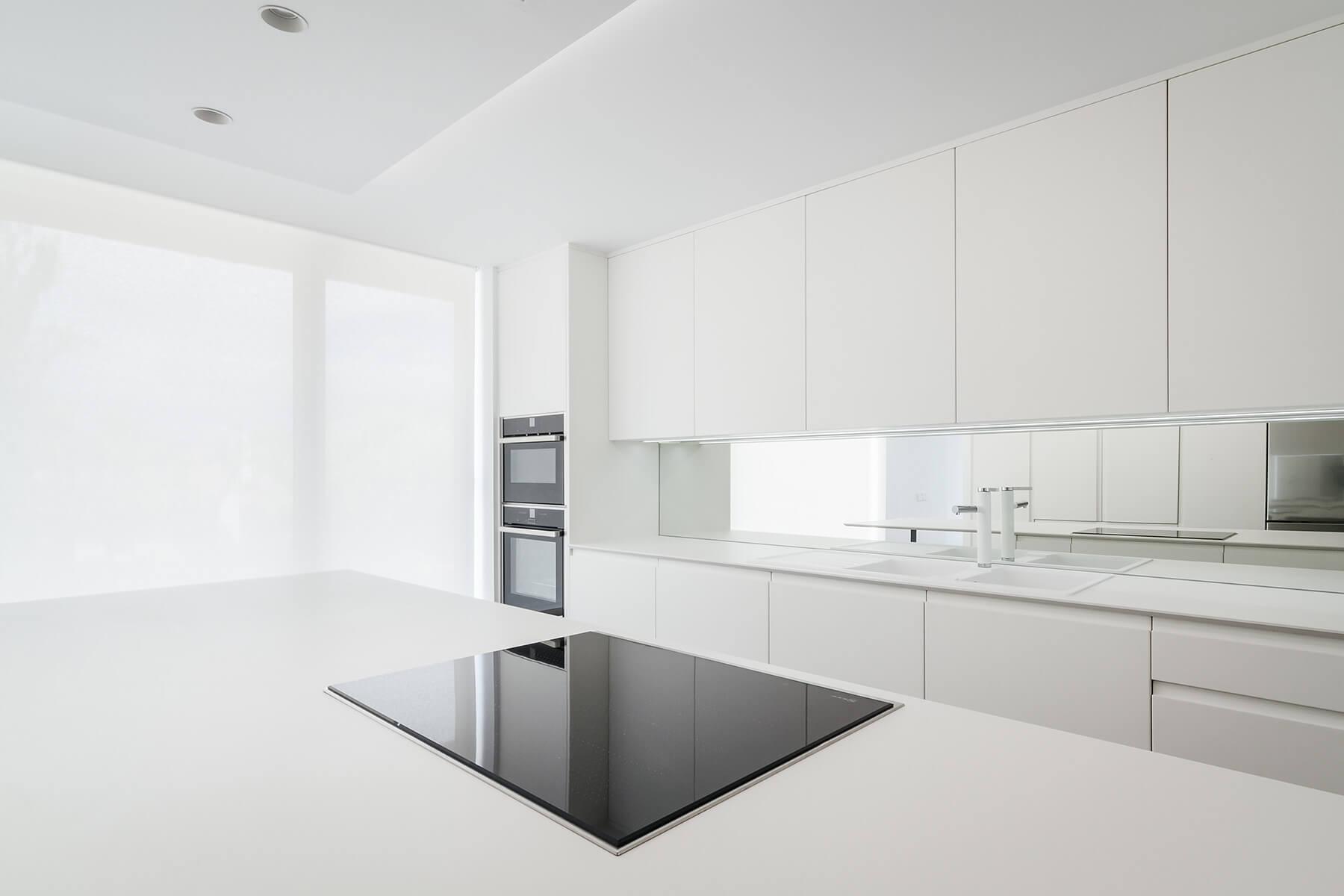 Muebles de cocina madrid fabricantes desde 1968 grupo - Cocinas con electrodomesticos blancos ...