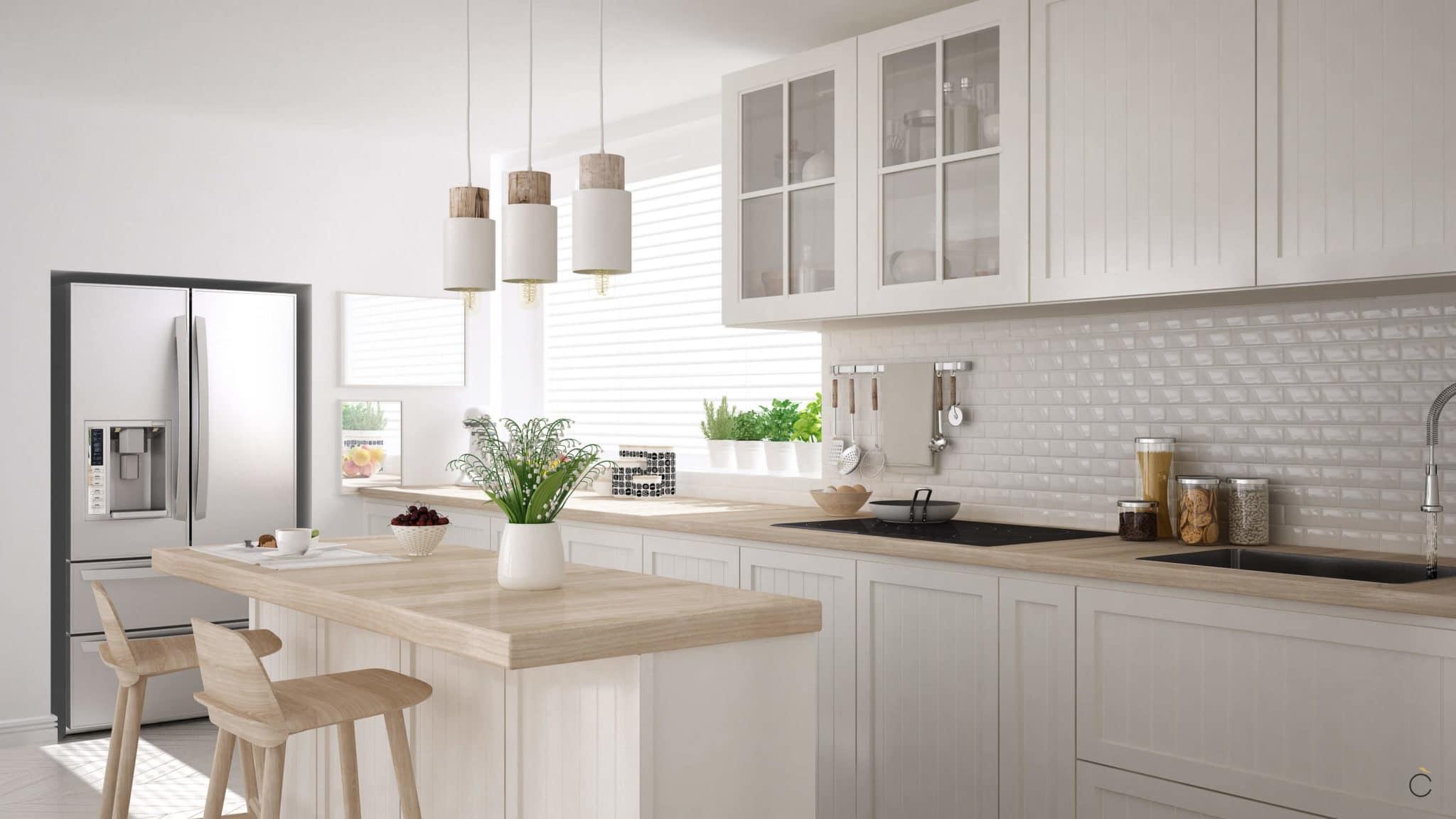 Cocinas de madera ventajas y desventajas grupo coeco for Ideas decorativas para cocinas pequenas