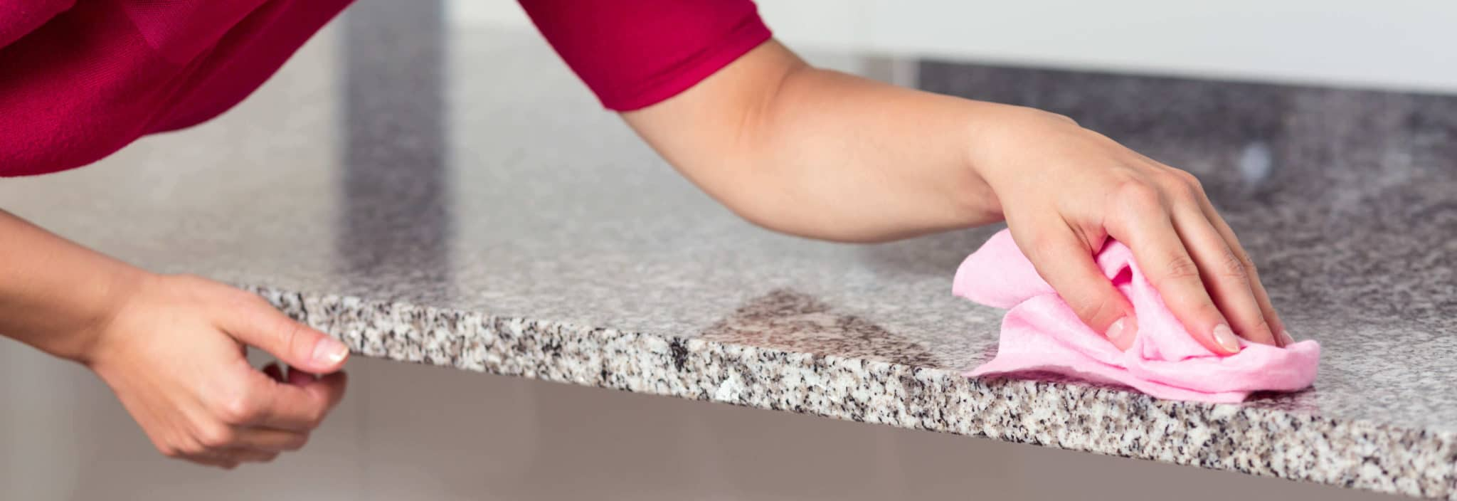 Cuidado de la encimera - como limpiar la encimera de cocina