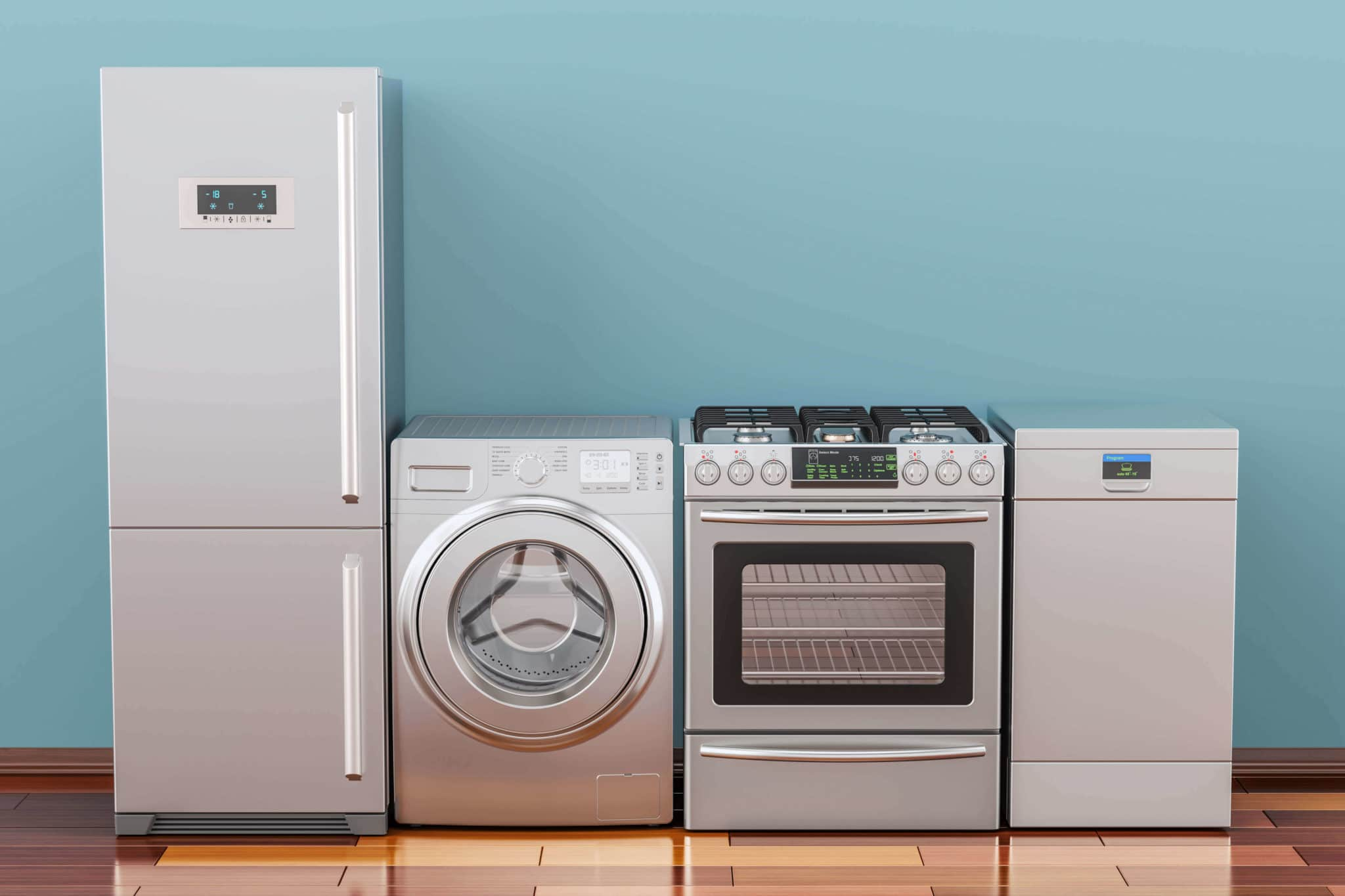 Errores diseño cocina - Electrodomésticos