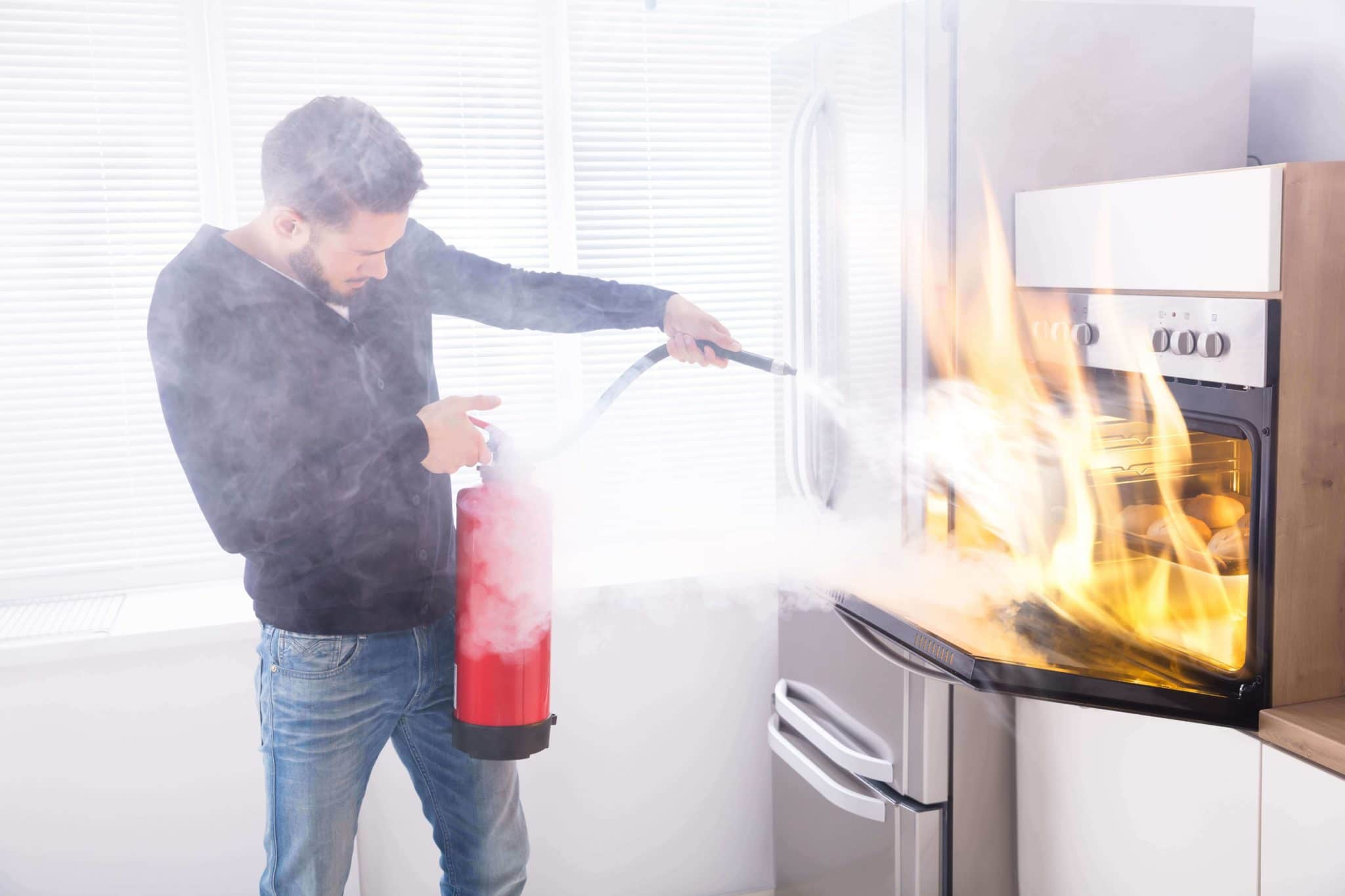 Errores diseño cocina - Seguridad