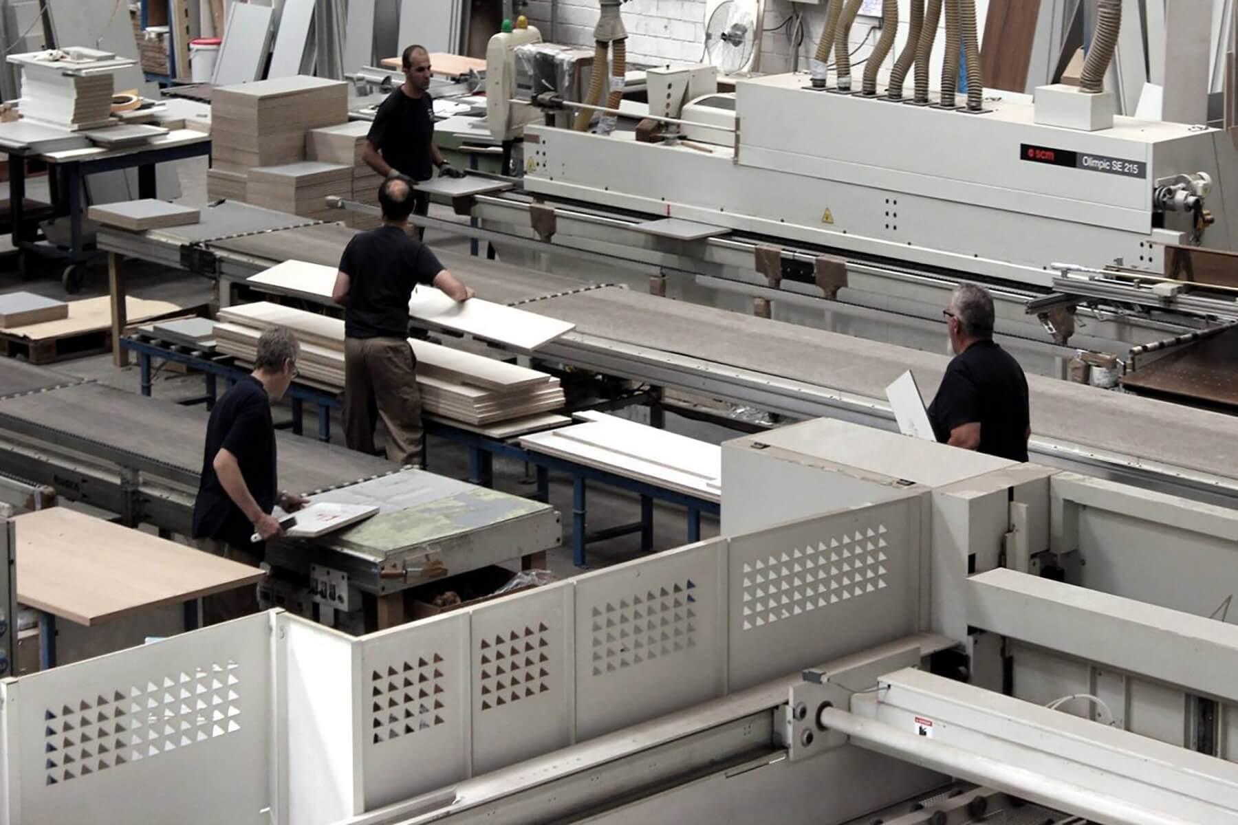 Fábrica Grupo Coeco - Fábrica de muebles de cocina