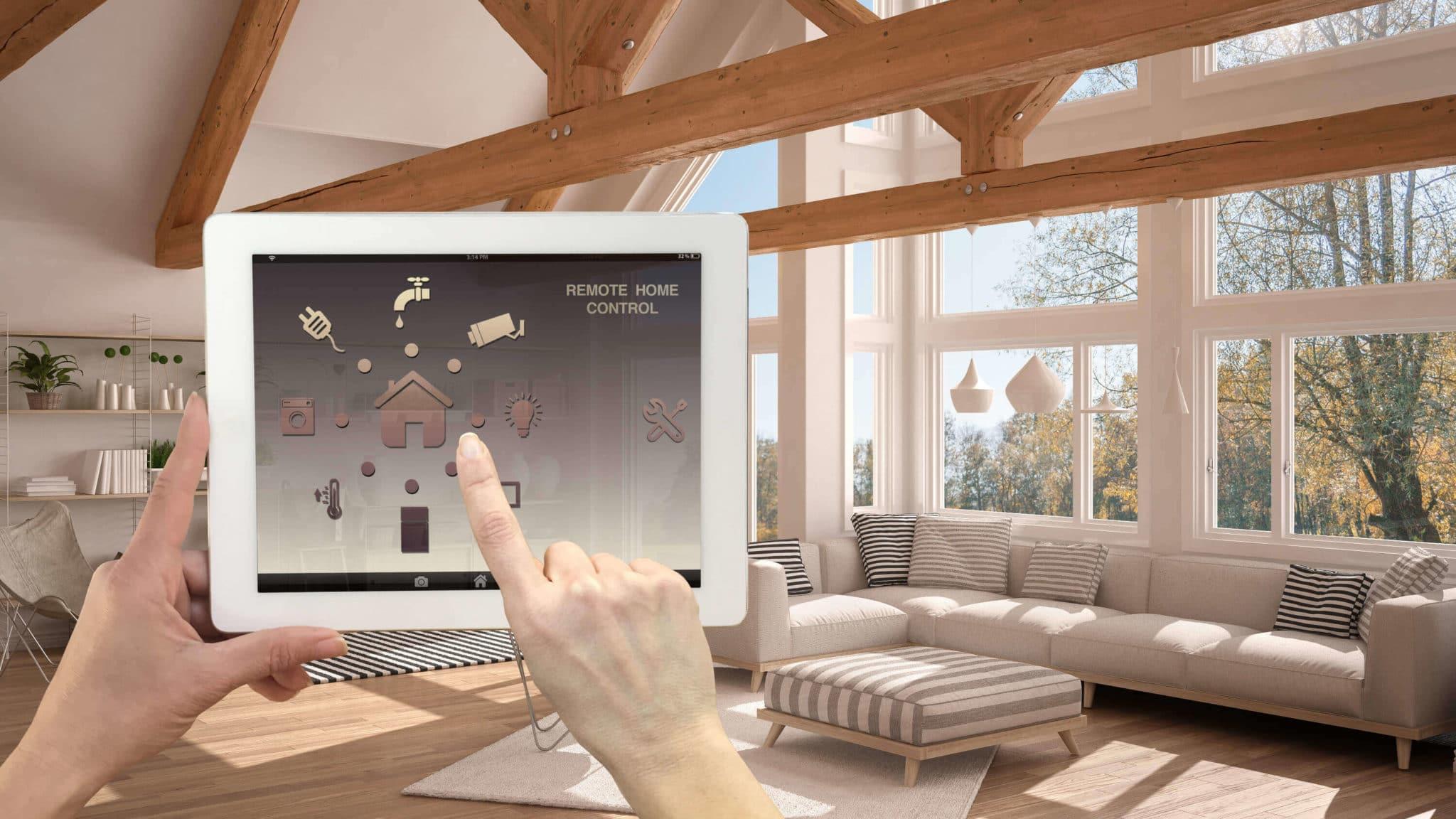 Domótica en el hogar - desde la tablet controlamos todo