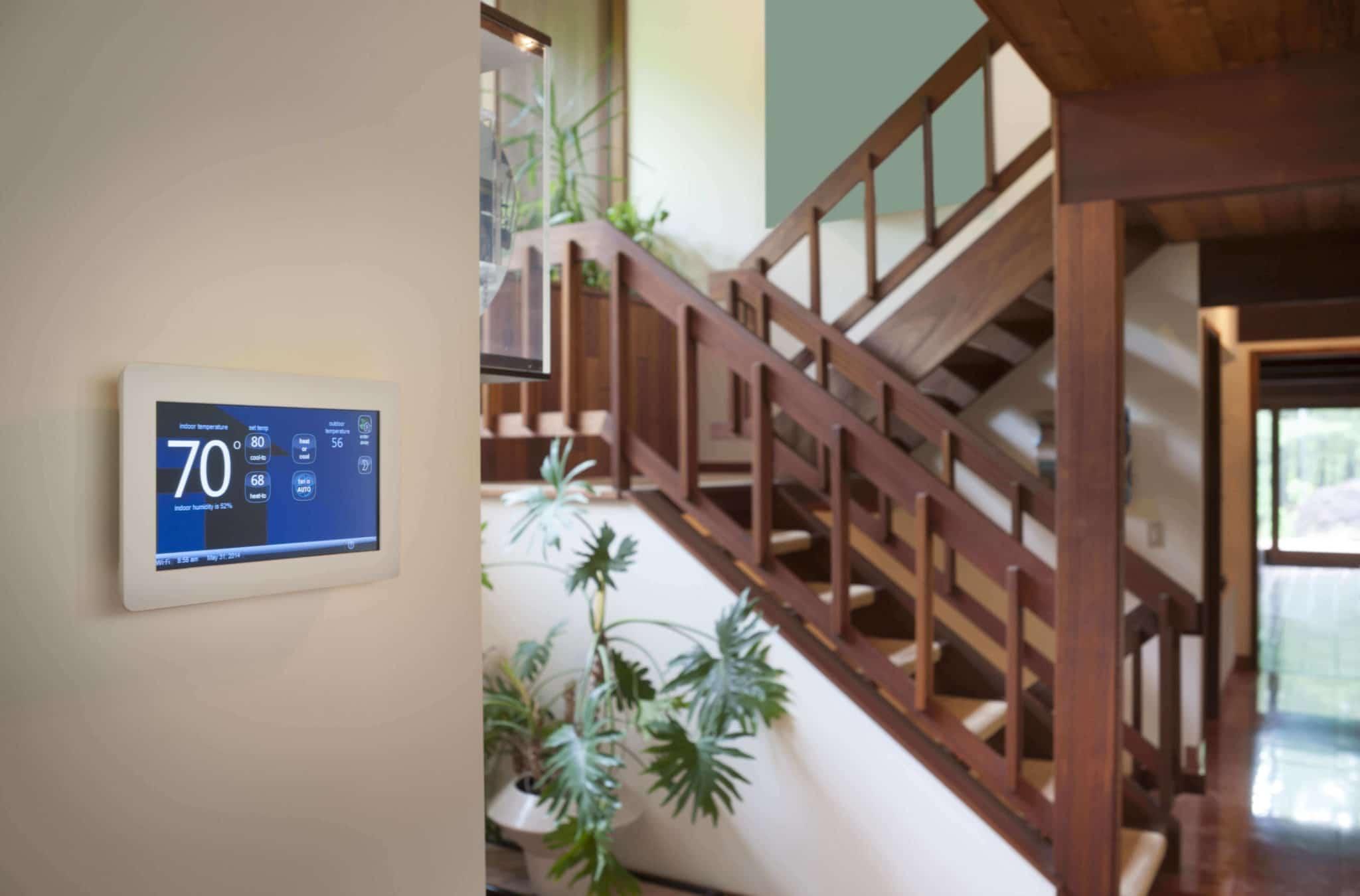 Domótica en el hogar - Control de temperatura